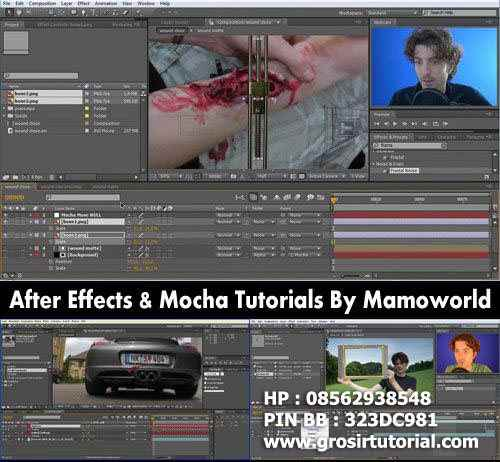AFTER EFFECTS VFX & MOCHA TUTORIALS - MAMOWORLD