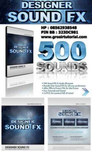 DESIGNER SOUND FX (MOVIE TRAILER SOUND FX & ELEMENTS) – VIDEO COPILOT
