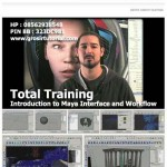 INTRODUCTION TO MAYA INTERFACE AND WORKFLOW – TOTAL TRAINING
