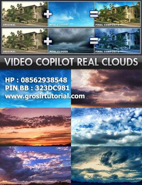 Video copilot - Real Cloud
