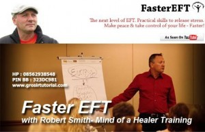 2 DVD MIND OF A HEALER TRAINING – FASTER EFT WITH ROBERT SMITH