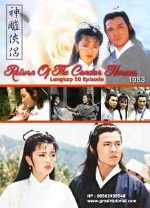 Jual Film Pendekar Pemanah Rajawali 1983 / Return Of The Condor Heroes