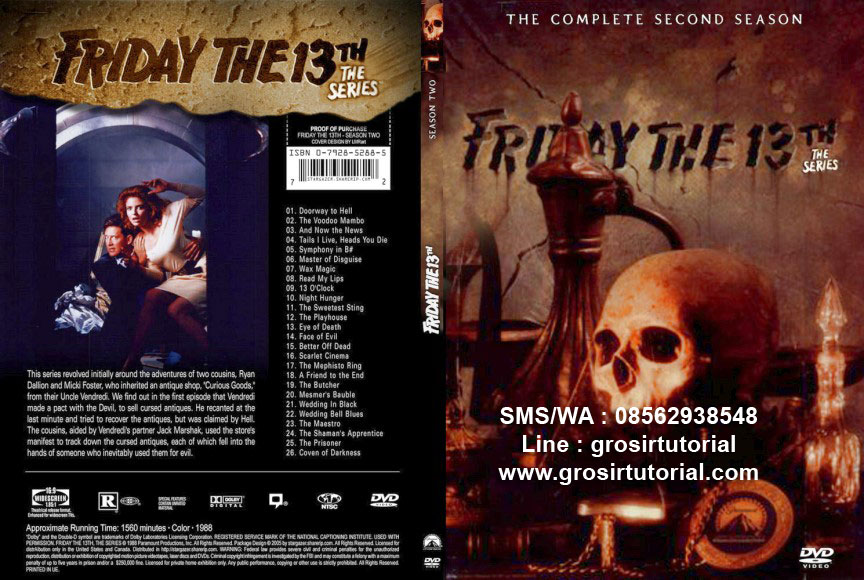 jual dvd friday the 13th