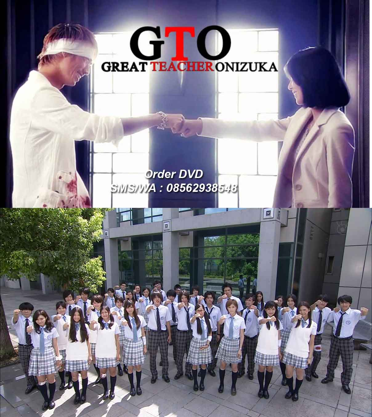 Jual DVD Film Great Teacher Onizuka Remake Drama