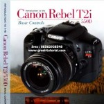 Jual Tutorial Fotografi Introduction to The Canon Rebel T2i 550D Basic Controls