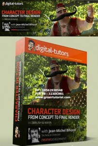 Digital Tutors – Crafting Characters from Design to Composite in ZBrush and Maya