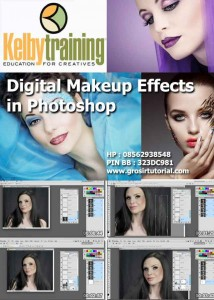 CREATING DIGITAL MAKEUP EFFECTS IN PHOTOSHOP – KELBY TRAINING