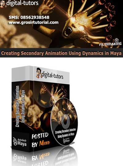 Creating Secondary Animation Using Dynamics in Maya - Digital-Tutors