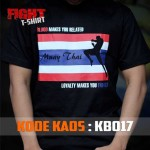 Kaos Muay Thai Boxing Blood Makes You Related