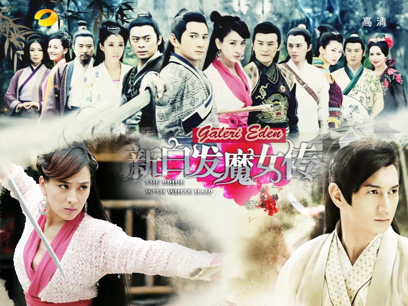 Review DVD Serial Silat Mandarin The Bride With White Hair