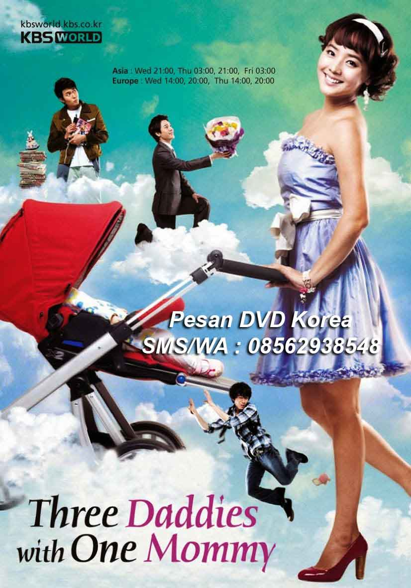 Jual-DVD-Drama-Korea-One-Mom-and-Three-Dads