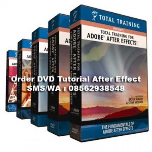 Kumpulan Tutorial After Effect 41 DVD