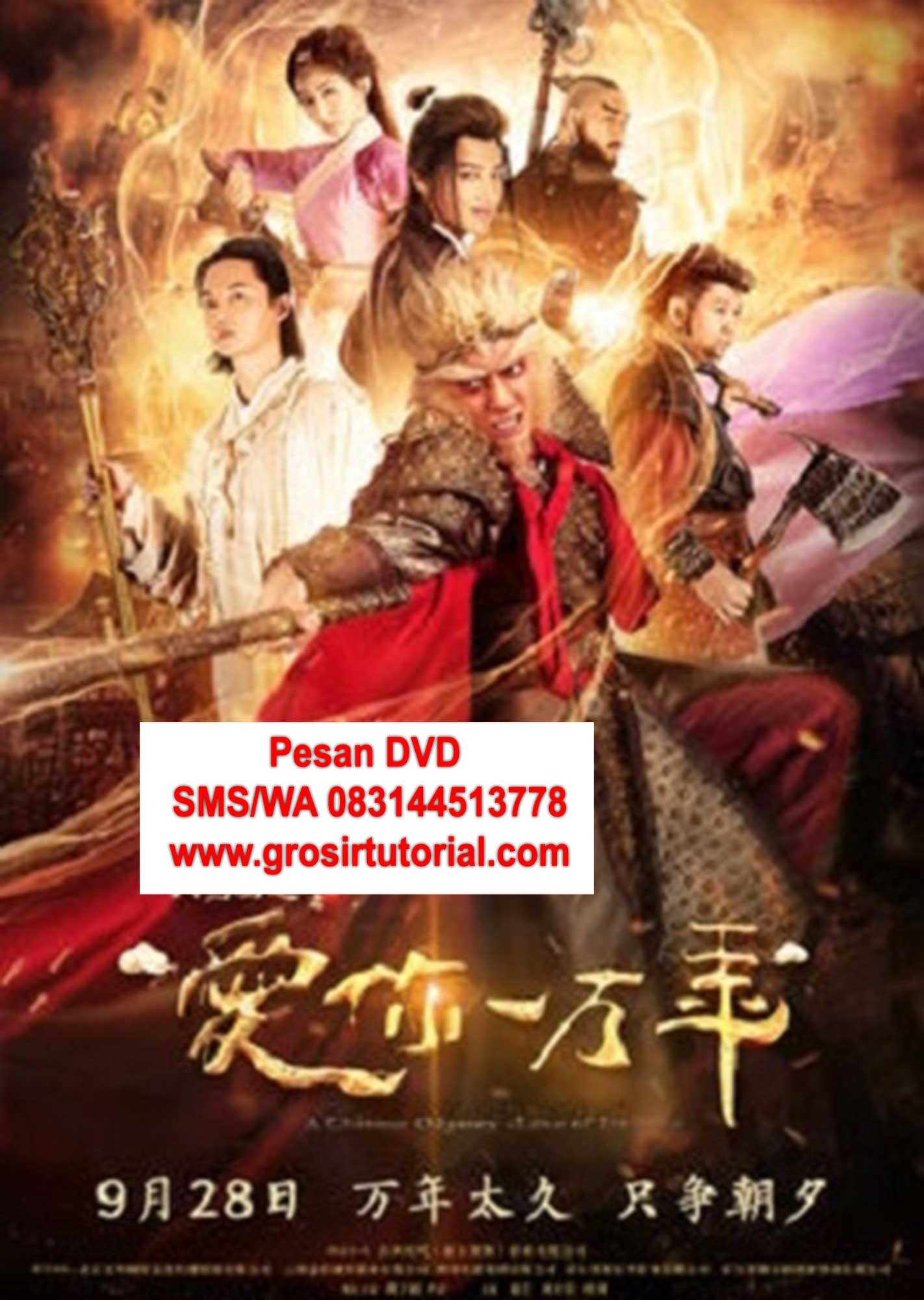 JUAL-dvd-MANDARIN-A-Chinese-Oddyssey-Love-of-Eternity