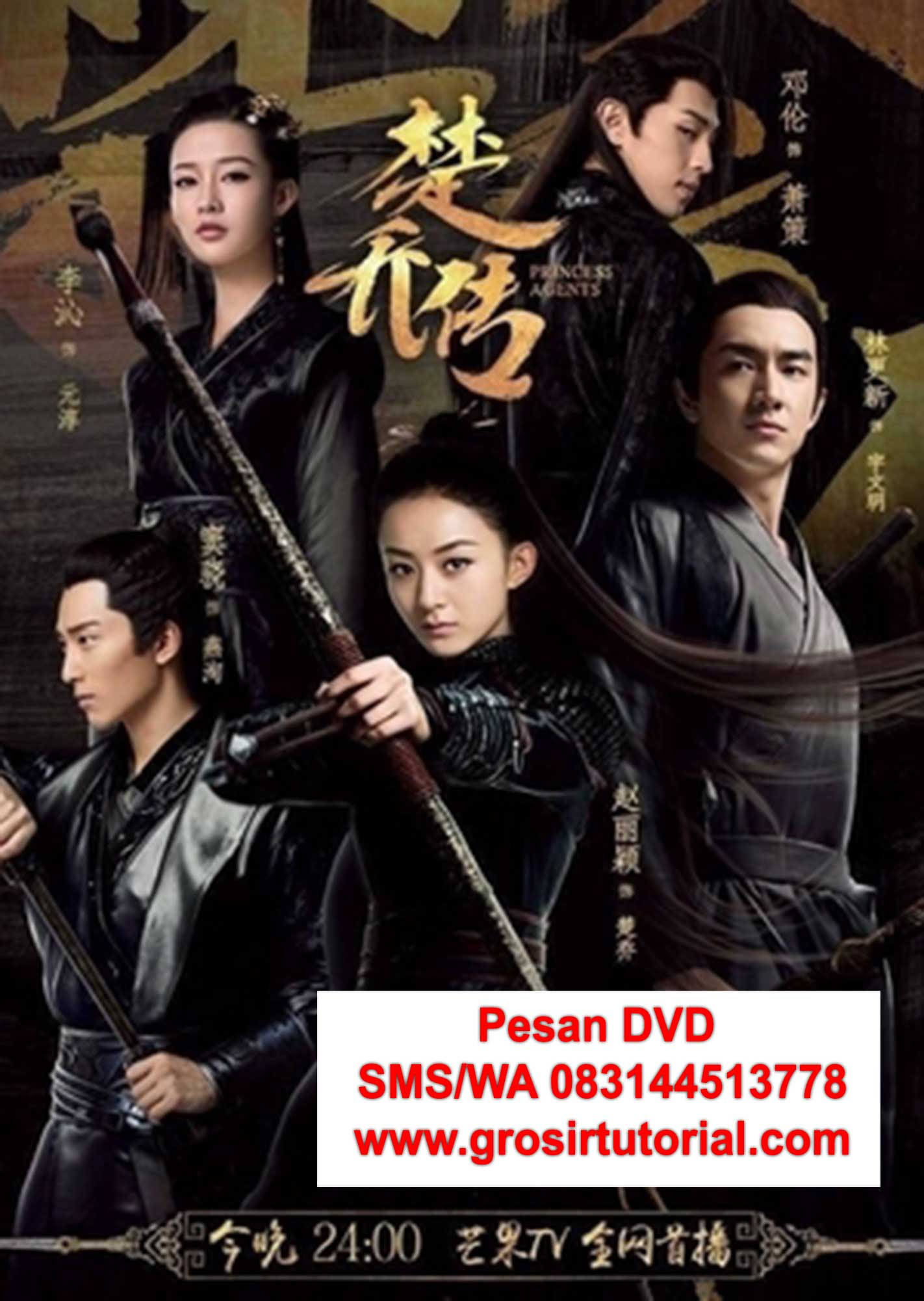 beli-DVD-mandarin-Princes-Agents