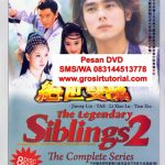 Jual DVD Mandarin The Legendary of Siblings 2