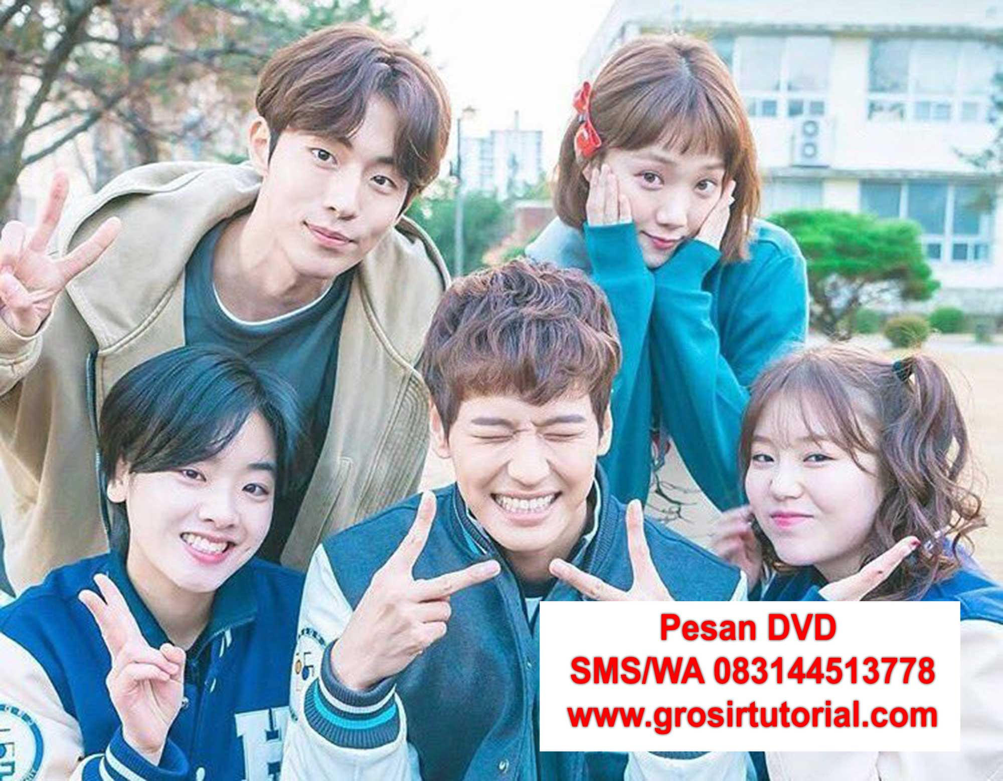 pesan-DVD-korea-Weightlifting-Fairy-Kim-Bok-joo