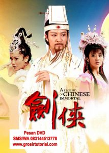 Jual DVD Silat Mandarin A Legend Of Chinese Immortals