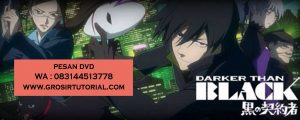 Jual DVD Animasi Darker Than Black Gum