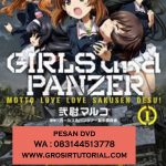 Jual DVD Animasi Girl And Panzer