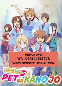 Jual DVD Animasi Sakurasou No Pet Na Kanojo