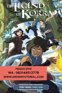 Jual DVD Animasi Avatar The Legend Of korra Book 4