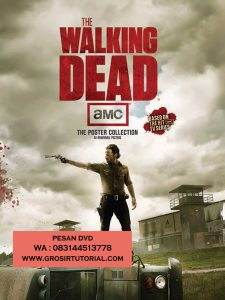 Jual DVD Serial Barat Walking Dead Season 1 – 8