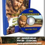 3 DVD WOODMASTER SERIES OF SURVIVAL AND CAMPING